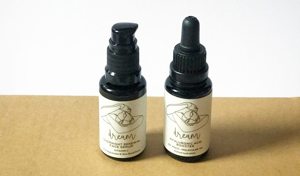Elan Skincare dream couple hualuronic acid and oil serum